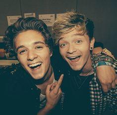 Brad and Connor ... So cute!