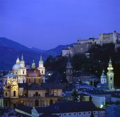 Salzburg, Austria - the most beautiful city in the world!