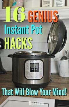 You're gonna fall in LOVE with your Instant Pot all over again after reading these 16 GENIUS tricks and tips!