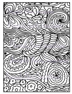 Coloring Pages Fun Doodle Page 1