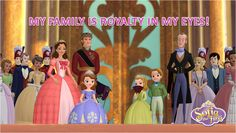 Is your family royalty? Sofia the First - Disney Junior