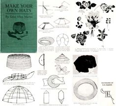 Millinery Lessons Hat Making MARTIN CD Hats by schmetterlingtag, $14.99