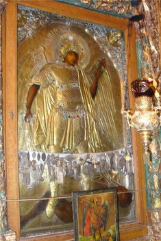Miracle working icon of Archangel Michael at the Convent of St. Mary Magdalene, Jerusalem