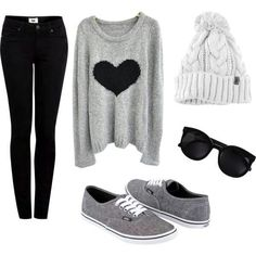sunday, movies home mood Super cute teen outfit for fall or winter! -Tween/Teen Fashion & Accessories