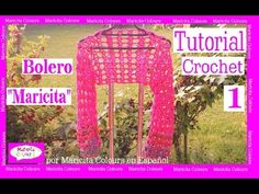 "Bolero Crochet Ganchillo ""Maricita""  (1) ""por Maricita Colours Tutorial ..."