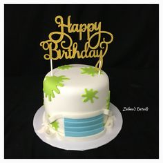Custom Cakes, Day, Desserts, Food, Crack Cake, Personalised Cakes, Postres, Personalized Cakes, Deserts