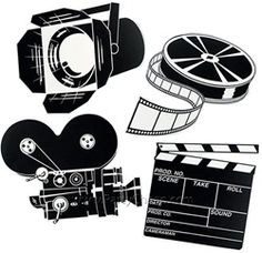 Hollywood decorations for movie theme parties. We have an extensive collection of Hollywood party supplies and decorations for Hollywood theme parties. Pretend you are going to a movie premier and hang these movie theme cutouts up on your walls. Hollywood Party, Hooray For Hollywood, Hollywood Icons, Classic Hollywood, Vintage Hollywood, Hollywood Glamour, Movie Themes, Party Themes, Party Ideas