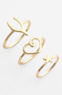 Charmed rings!