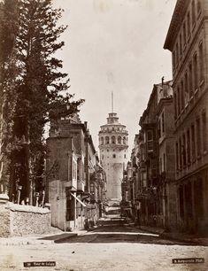 Bir zamanlar Galata Kulesi