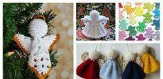Christmas Angel Ornament Free Crochet Patterns