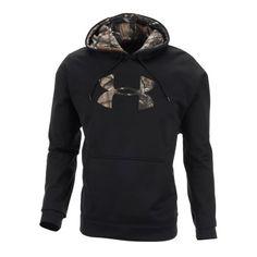 Under Armour® Men's Armour®Fleece Tackle Twill Logo Hoodie