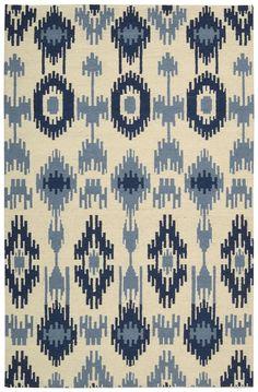 Barclay Butera Prism Indigo Area Rug By Nourison PRI33 INDIG (Rectangle)