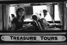 """Ruth ORKIN :: Treasure Tours, 1951 [from the photo-essay """"Don't be Afraid to Travel Alone""""]"""