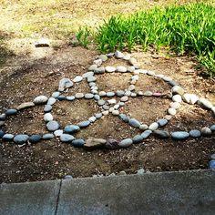 I just finished this Celtic knot in my garden. I just finished this Celtic knot in my garden. Witchy Garden, Garden Whimsy, Garden Art, Garden Design, Gothic Garden, Spiritual Garden, Sacred Garden, Beltane, Meditation Garden