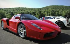 The owner of the Enzo also owns the Mclaren as well as some other goodies like an and LM replica. My Dream Car, Dream Cars, Sports Car Wallpaper, Chic Summer Outfits, Car Hd, Food Trucks Near Me, Mclaren F1, Car Wallpapers, Widescreen Wallpaper
