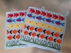 Crochet Potholders, Mittens, Pot Holders, Knitting Patterns, Blanket, Diy, Charts, Tejidos, Clothing