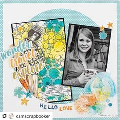 We love the different use of Dylusions Colouring Sheets featured in this layout! #Repost @csmscrapbooker with @repostapp ・・・ @engelbelle layout was featured in our Fall 2016 issue? Do you have your copy yet?  Layout features products from @simplestories_  and @ranger_ink  #creativescrapbookermagazine #csmscrapbooker #ranger #simplestories #dylusionscolouringsheets #dylusions #mixedmedia #coffeefilters #12x12layout #scrapbooking #blackandwhitephoto #mixedmedia #kerryengel #fallmagazine…