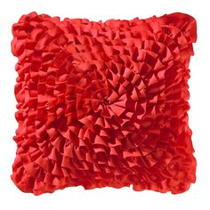 Ruffle Decorative Throw Pillow