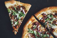 #vegan bbq chik'un pizza with ranch   RECIPE on hotforfoodblog.com