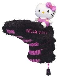 Black/Pink Blade Putter Cover by Hello Kitty. Buy it @ ReadyGolf.com