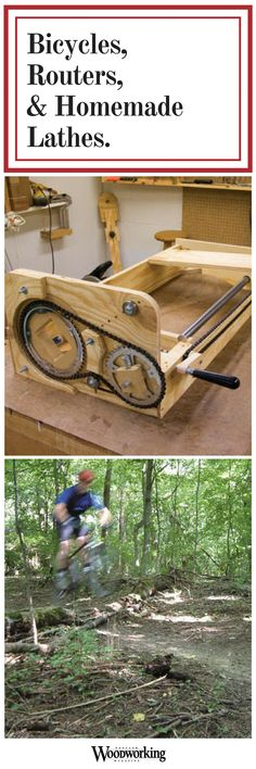 Building a homemade lathe for this specialty task did not require as much internet searching as Jim Stack had feared.