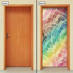 1996cnpt Painted Doors, Loft, Blue, Painting, Furniture, Design, Home Decor, Products, Bedroom Decor