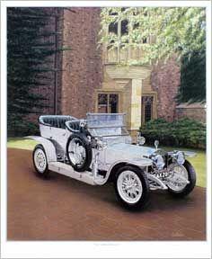 """""""1907 Rolls Royce Silver Ghost"""" by Roger Hardnock"""