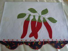 patchwork pano de prato pimenta - Pesquisa Google