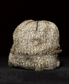 A early 17th century blackwork Cap