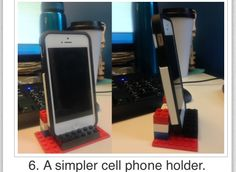 iOttie Easy One Touch 4 Dash & Windshield Mount – Black 17 Practical Uses for Lego in Your Everyday Life – Phone Stand – Ideas of Phone Stand – 17 practical uses for LEGO in your everyday life. This is fun! Desk Phone Holder, Iphone Holder, Iphone Stand, Iphone Phone, Deco Lego, Iphone S6 Plus, Lego Hacks, Used Legos, Lego Craft