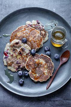 Buckwheat Blueberry Pancakes | The Detox Kitchen