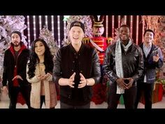 "Pentatonix - 'Angels We Have Heard On High' ... from the album ""PTXmas""  [Official Video] - YouTube"