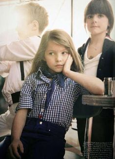 Evangeline was cast as the star of the student film.
