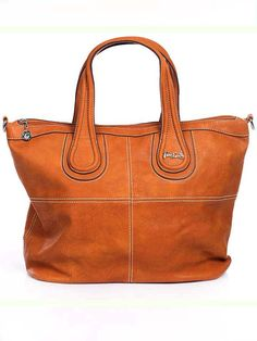 Comfortable Leather Tote Purse Handbag by VEGANfashionBAGS on Etsy, $85.00