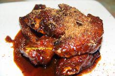 Recipe Gula Melaka Chicken wings - Konahblog | Malaysia personal blog dan kisah kurus Gula Melaka, Recipes Using Coconut Milk, Malay Food, Fresh Chicken, Secret Recipe, Original Recipe, Coconut Flakes, Recipe Using