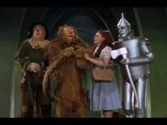 Pink Floyd Dark Side of the Moon + The Wizard of Oz. Remember to hit play on the third roar of the MGM lion and the music and scenes will sync up perfectly. Pin if you actually did this.