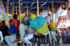 Drizella rides Prince Charming Regal Carrousel | Flickr - Photo Sharing!