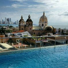 Best Places to Honeymoon in Latin America Latin Wedding, Best Places To Honeymoon, Latin America, Popsugar, Latina, Mansions, House Styles, Instagram Posts, Cartagena Colombia