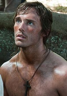 Sam Claflin as Finnick Odair in Catching Fire (Movie/Book #2 in the Hunger Games series)? Dear goodness YES PLEASE!!!!
