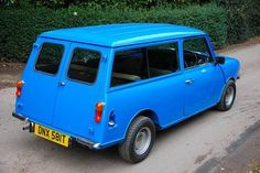 My first car! Was municipality beige and was used to collect parking meter money! Mini Cooper Clubman, Mini Coopers, Classic Mini, Vans Classic, Old Used Cars, Driving Teen, Toyota Mr2, Jaguar Land Rover, Mini Stuff