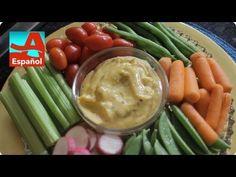 """El término """"aioli"""" suena exótico, pero ¿sabían que es básicamente una mayonesa con ajo? Ve lo fácil que es para prepararlo. Green Beans, Meat, Chicken, Vegetables, Mayonnaise, Garlic, Cooking, Vegetable Recipes, Veggies"""