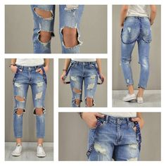 All you need is love...and jeans!!! Γυναικείο τζιν cropped με τιράντες love και σκισίματα.   #metaldeluxe #womansfashion #womanswear #womansclothes #style #fashion #fashionista #shopping #onlineshopping #denim #jeans #woman #shop #suspenders
