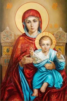 Blessed Mother Mary, Blessed Virgin Mary, Religious Images, Religious Art, Hail Holy Queen, Bible Timeline, Christian Pictures, Queen Of Heaven, Mama Mary