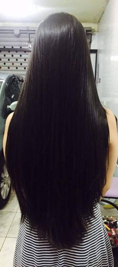 Beautiful Long Shiny Hair More 18 1 Long Straight Black Hair, Long Dark Hair, Long Hair Cuts, Long Hair Styles, Long Straight Weave, Long Black, Beautiful Long Hair, Gorgeous Hair, Super Long Hair