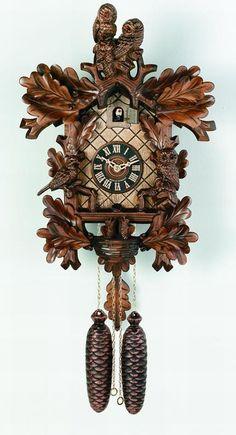 River City Cuckoo Clocks Owls, Bird & Nest Cuckoo Clock