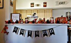 I just love how this turned out. Decorating for Thanksgiving 2015