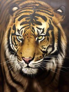 35812657_986071604891781_6478765639811989504_n Painting Studio, Airbrush Art, Custom Paint, Art School, Gallery, Artwork, Animals, Work Of Art, Animales