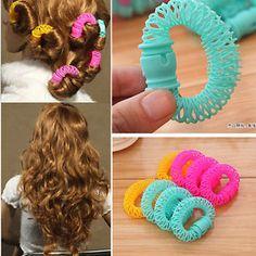 Women-Bendy-Hair-Styling-Roller-Curler-Spiral-Curls-DIY-Tool-8-PCS-Hairdressing