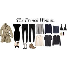 """""""The French Woman"""" by trenchcoatandcoffee on Polyvore"""