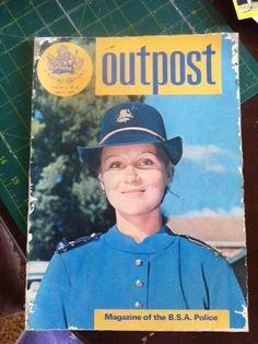 B.S.A.P.  Magazine Ian Smith, Zimbabwe, Cob, South Africa, Birth, Police, African, Military, Magazine